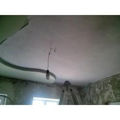 Глянцевый криволинейный потолок