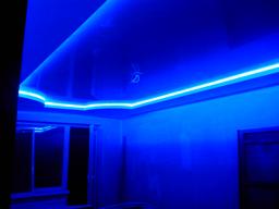 натяжной потолок с подсветкой в Кропивницком (Кировограде)