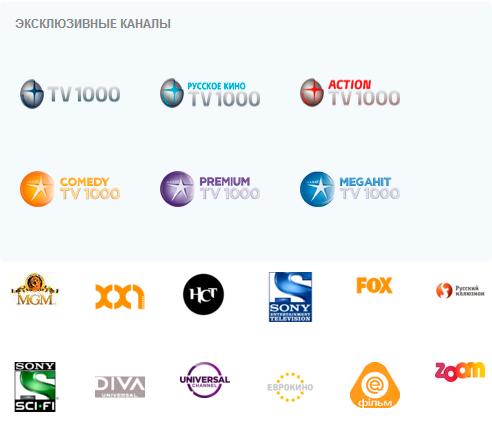 эксклюзивные каналы на Viasat