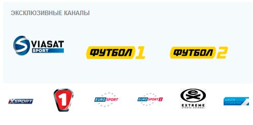 Спортивные каналы Viasat